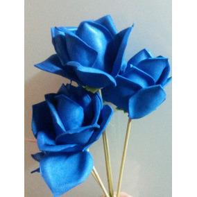 Hermosas Flores Para Ramo O Arreglos De Goma Eva