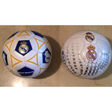 Balón De Fútbol Número 5 Oficial Real Madrid Original