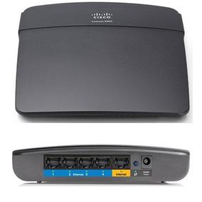 Roteador Wireless-n Linksys 300 Mbps E900 E900-br Preto Novo