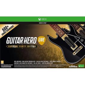Guitar Hero Live Supreme Party Ediiton 2guitarras+juego Nuev
