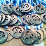 Medalleros, Medallas Y Trofeos En Madera