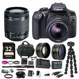 Canon T6 Eos Rebel Cámara Dslr Con Ef-s Mm Is Ii Amplifica