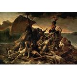 Lienzo Tela Arte Canvas La Balsa De La Medusa 1819 50x73 Cm