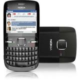 Celular Nokia C3-00 Bluetooth Wi-fi Novo Na Caixa Completo