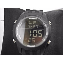 Relógio Potenzia Masculino Digital ;cronômetro;luz;alarme