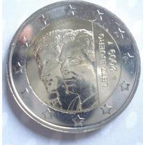 Luxemburgo 2009 Moneda 2 Euros Sin Circular Henry- Charlotte