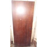 Puertas De Interior De Terciado Barnizadas Color Caoba