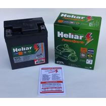 Bateria Moto Heliar Htz7 Twister/ Tornado/ Cb300/ Fazer 250