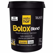 Botox Blond - Natuhair Skafe - Sem Formol - 210g