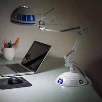 Star Wars R2-d2 Lampara De Escritorio Arquitectonico No Bb-8