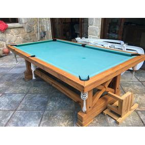 Mesa De Pool - Billar Madera Masiza