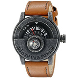 Reloj Joshua Sons Mens Jx116bkbr Compass Watch