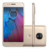 Celular Motorola Moto G5 S Xt1794 32gb Dourado Tela 5