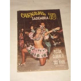 Carnaval Sadembra 1970 - Marcha / Samba / Letra