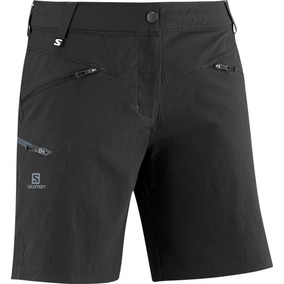 Short Femenino Salomon - Wayfarer Short W Negro - Hiking