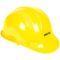 Casco De Seguridad Con Ajuste De Banda Amarillo Pretul 25037