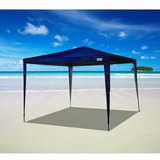 Tenda Gazebo Poliéster Oxford Silver Coating Azul 3x3 - Mor