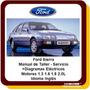 Ford Sierra Manual Taller Reparación Carburado Inyección Ing