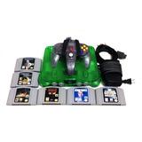 Nintendo 64 N64 Jungle Green (verde Transparente) 6 Juegos