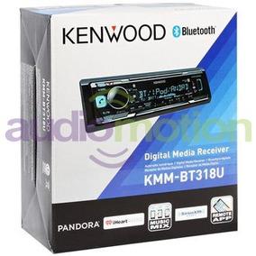 Autoestéreo Kenwood Kmm-bt318u Usb Bt Aux 3 Preout Spotify