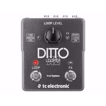Tc Eletronic Ditto Looper Pedal X2