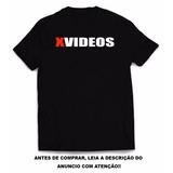 Camiseta Estampa X Videos - Porno - Camiseta Site Xvideos
