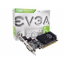 Placa De Vídeo Geforce Gt610 1gb Ddr3 Pci Express 2.0 X16