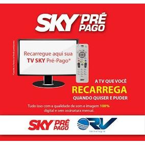 Recarga Sky Pré Pago Digital 30 Dias R$ 14,90 Suporte 24h