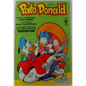Pato Donald Nº 1760 Legião Urbana Papo Incrível 1986 Raro