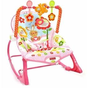 Cadeira De Balanço Minha Infância Menina Fisher Price E