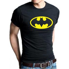 Roupa Do Batman Masculino Com Logo Amarelo Do Pp Até G5