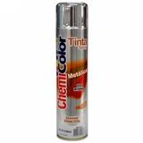 Tinta Spray Metálica Cromada 350ml