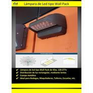 Wallpack De Led 42w, 120-277v