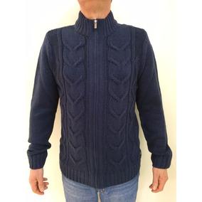 Jaqueta Masculina De Tricot De Lã Bem Grossa Marca Hering
