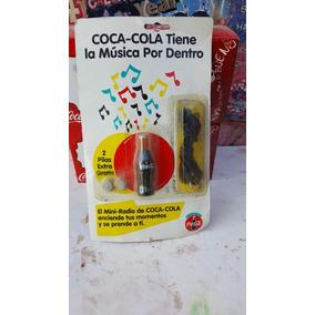 Mini Radio Coca Cola Sellado .