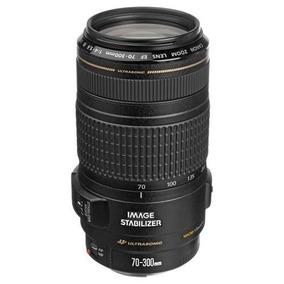 Lente Canon 70-300mm F/4-5.6 Is Usm Ef-s Frete Gratis Pac