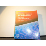 Matematicas Aplicada Para Administrador Budnick 3era Edicion