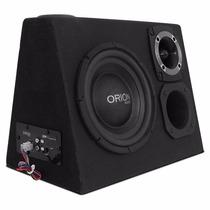 Caixa Trio Amplificada Orion Subwoofer 8 Polegadas 520w Rms