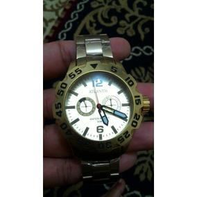 590bc2cd49c Relógio Masculino Anadigi Speedo 80604g0evnp1 - Branco. Usado · Relógio  Atlantis Masculino A3279 Fundo Branco