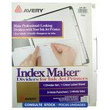 Separador Carta Avery 3 Perforaciones 11455 Districomp
