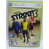 Juego Original Xbox 360 Fifa Street 3, Perfecto Estado