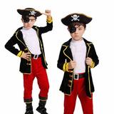 Fantasia Pirata Luxo Premium Para Criança Infantil Kit