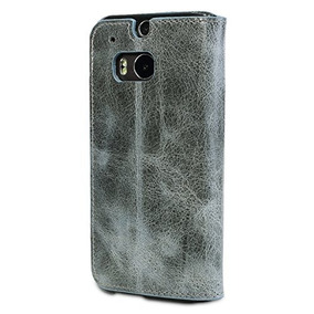 Bouletta Leather Phone Case For Htc One M8 [bookcase Vessel