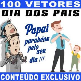 Dia Dos Pais Vetores Corel Editáveis Estampas Artes