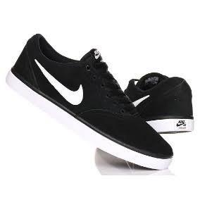 c2863ac569dab Tenis Nike Check Solar Piel Pulida Negro Blanco