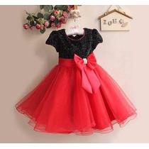 Vestido Infantil Festa Luxo Importado (criança) Princesa