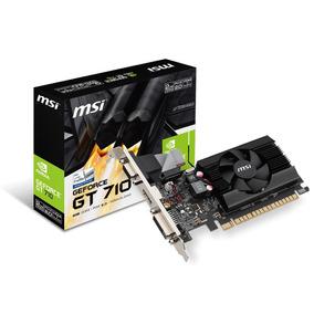 Msi Geforce Gt710 2gb Ddr3 Gt 710 Low Profile Hdmi Concooler