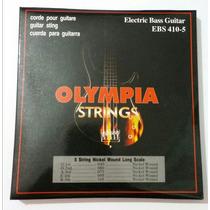Cordas P/ Baixo Olympia Ebs410-5 5 Cordas 0,40