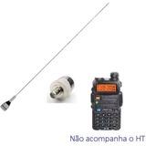 Kit M-300c Antena 1/4 Vhf 2m Aquário + Conector Para Ht Py