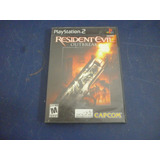 Resident Evil Outbreak Para Play Station 2